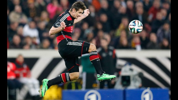 Miroslav Klose (Germany): With his nose for goal and a knack for nodding headers home, Klose will be on defenders