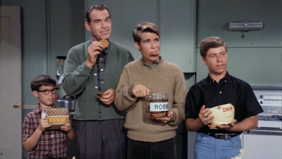 """""""My Three Sons"""": The comedy series followed the ups and downs of widower Steve Douglas (played by Fred MacMurray) and his -- well, you can probably guess -- three sons during its on-air run from 1960 to 1972."""