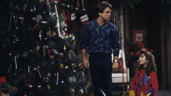 """""""Who's the Boss?"""": Widower Tony Micelli (played by Tony Danza) takes a job as a live-in housekeeper for a divorced female advertising executive in the role-reversal series that aired from 1984 to 1992. His daughter, Samantha (Alyssa Milano), also moves into the house."""