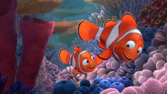 """""""Finding Nemo"""": This Pixar movie follows the journey of overprotective father Marlin as he searches for his clownfish son, Nemo, who was taken by a fishing boat. In the 2003 film, Nemo's mother and siblings were killed by a barracuda when he was just an egg."""