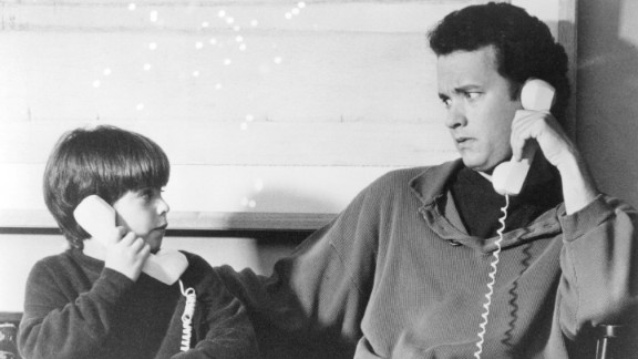 """""""Sleepless in Seattle"""": This classic rom-com by Nora Ephron stars Tom Hanks as a depressed widower who lost his wife to cancer. His young son, Jonah, takes it upon himself to call into a radio show to help the grieving father -- who becomes known as """"Sleepless in Seattle"""" -- find a new mate."""