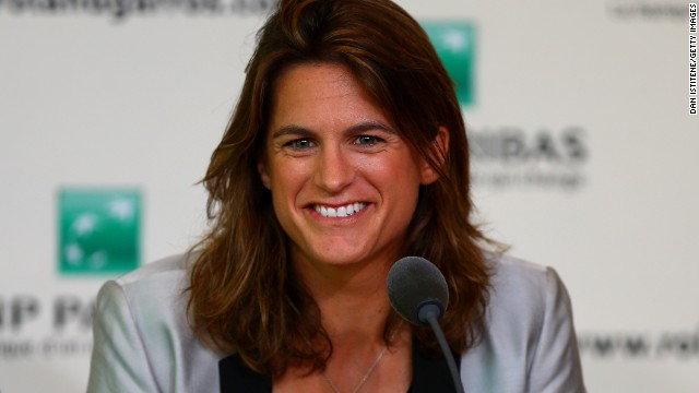 Amelie Mauresmo retired in 2009 after a career which saw her win Wimbledon and the Australian Open.