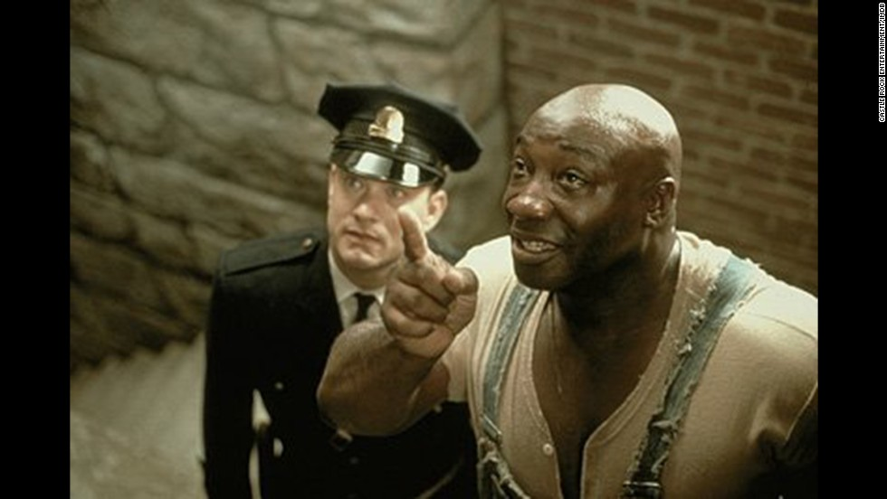 "<strong>""The Green Mile"" (1999)</strong>: This movie has its critics, but what isn't debatable is how affecting Michael Clarke Duncan's performance is as a man with unique gifts on death row. Like 1994's ""The Shawshank Redemption,"" this is a prison-set movie that reaches far beyond."