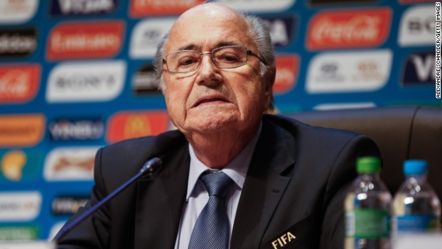 FIFA president Sepp Blatter is defending his organization against allegations of corruption.