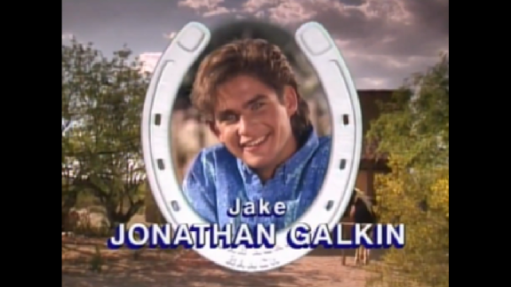 """Jonathan Galkin joined """"Hey Dude"""" in Season 3 as Jake Decker, Mr. Ernst's slacker musician nephew."""