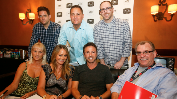 Coy (back row, center) joined the show on the heels of finishing high school, but left acting after the finale. Coy went to school instead and currently works as a director of marketing.