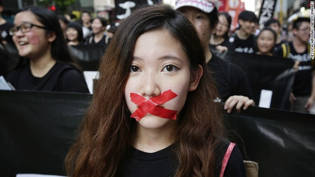 China's warning to Hong Kong