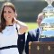 kate middleton america's cup trophy