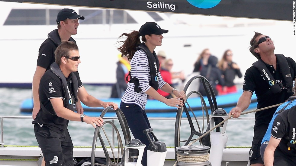 The British team has raised around 40% of its budget, and is now on the lookout for major commercial sponsorship. It's hoped the Duchess of Cambridge, a keen sailor, will help boost the international profile of the team.
