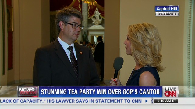 Cantor loss 'sending shivers' among GOP