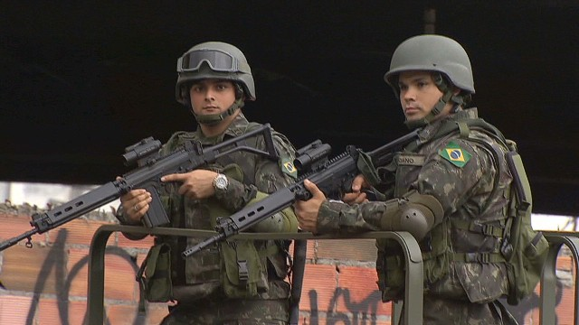 Patrolling Rio's most dangerous favelas