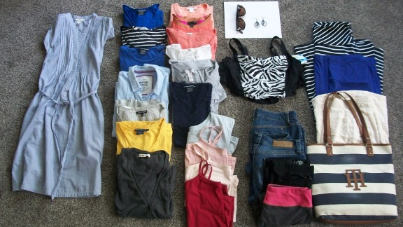 Natalie Ayama of Idaho Falls, Idaho, started her Project 333 in June, though she ended up with 36 items.