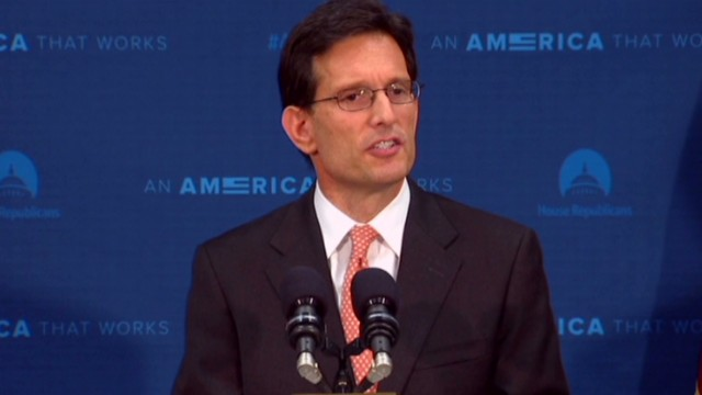 Cantor to relinquish leadership in House