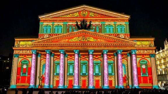 International Circle of Light Festival at the Bolshoi Theater.