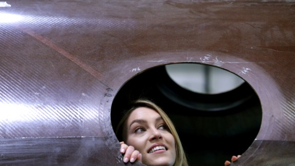 CNN's Rachel Crane gained unprecedented access to a secure California factory where Virgin Galactic's tourism spaceships are under construction. Click through the gallery for a rare inside look at how these amazing machines are put together at this off-limits facility.