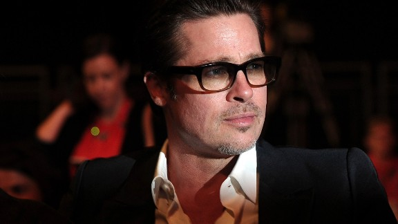 "Brad Pitt, father of six, on organization: ""Listen, I admit there"