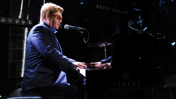 Elton John, father of two, on life