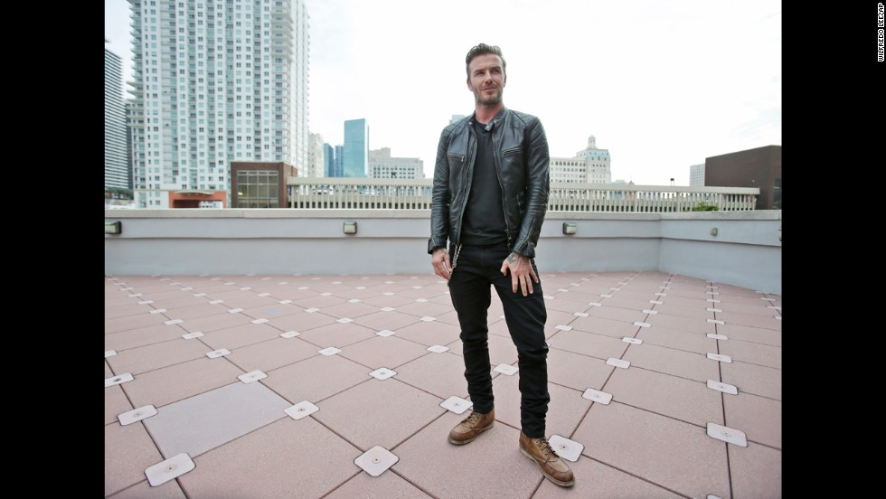 "<strong>David Beckham, father of four, on teaching values</strong>: ""It would be easy for our kids to sit back and not work for anything, but they're not like that. ... They want to work at something. They know their values. That's the way we've brought them up so far, and that's the way we'll continue to bring them up."""