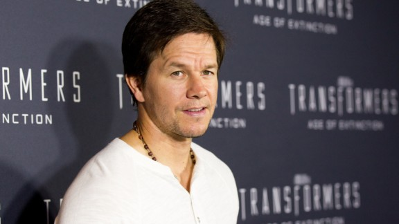 Mark Wahlberg, father of four, on a father