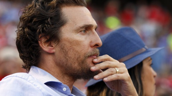"Matthew McConaughey, father of three, on responsibility: ""Everything I do leads back to them: how I take care of myself, how I handle myself, how I need to make sure that I stay healthy and literally alive, because they need me. That"