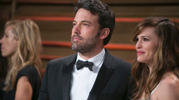 "Ben Affleck, father of three, on work-life balance: ""Running around after three kids is very trying. Now everything has to compete with being with my family. I don"