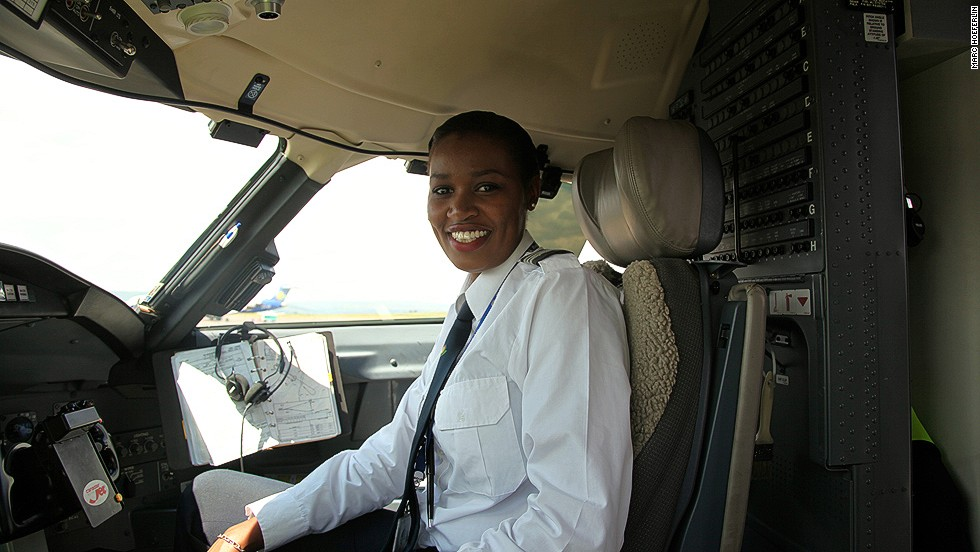 "Moving into the role of pilot has been a tough journey and it hasn't been any easier since she finished her training. Mbabazi reveals that being a female pilot still causes increased scrutiny. ""I think it's perception. Right now you meet a lot of people and some are very excited, and some are OK."""