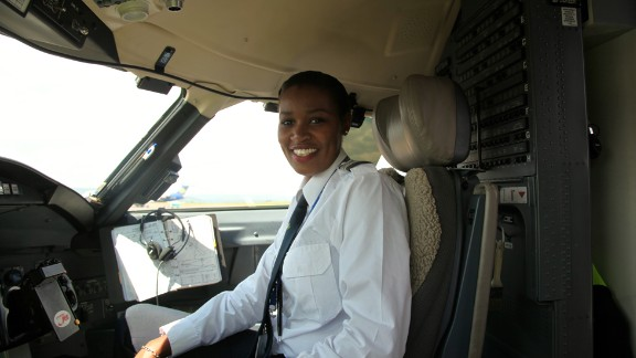 Moving into the role of pilot has been a tough journey and it hasn