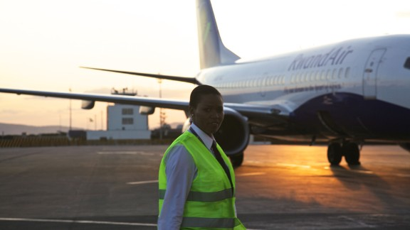 """Recalling one particular incident, she says: """"The cabin crew said we"""