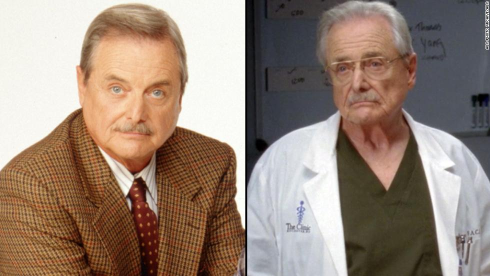"William Daniels starred as George Feeny who morphed from teacher to principal and mentor for Cory. Daniels starred as Dr. Craig Thomas on the hit ABC show ""Grey's Anatomy"" in 2012 and once again takes on the role of Feeny in ""Girl Meets World."""