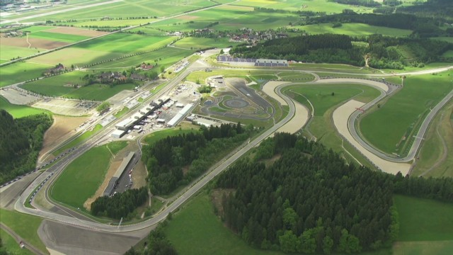 Red Bull Ring's major transformation
