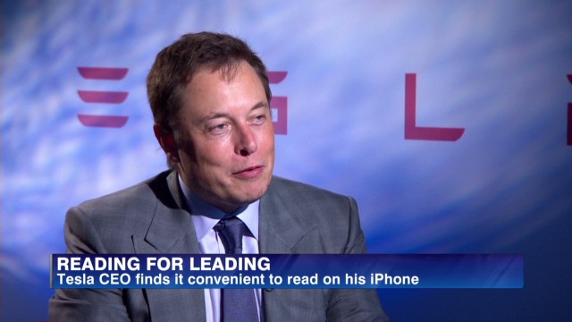 Why Elon Musk reads on his iPhone