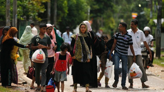 Sri Lankan Muslims seek sanctuary following a rampage by Buddhist mobs that many blame the BBS for inciting.
