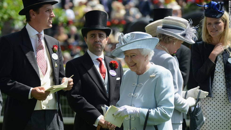 Queen Elizabeth II, a keen horse racing fan, attended the opening day of festivities at  Royal Ascot. The Queen's horse, Estimate, was beaten in the Gold Cup on Thursday.