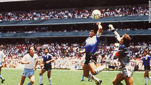 How Diego Maradona redefined football in the space of  less than five minutes