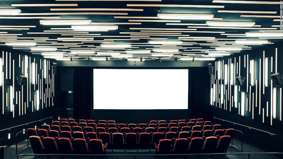 "<em>New People Cinema, San Francisco</em><br /><br />The photographer did include one contemporary cinema in his series, the New People Cinema in San Francisco's historic Japantown quarter, because he thought it lived up to the glamor of movie theaters from the 1930s and 1940s: ""This cinema can easily rub shoulders with movie palaces of old. It made such a strong impression on me with its play of light and simplicity,"" says Bohbot."