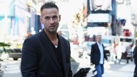 """Mike """"The Situation"""" Sorrentino made headlines in 2014 after <a href=""""http://www.cnn.com/2014/06/17/showbiz/mike-situation-sorrentino-arrest/index.html"""">a fight at his tanning salon</a>. He also had <a href=""""http://www.nydailynews.com/entertainment/tv/tvgn-sets-premiere-date-situation-new-reality-series-sorrentinos-article-1.1815672"""" target=""""_blank"""" target=""""_blank"""">a reality show about his family</a> that premiered on TVGN. In January 2018 Sorrentino pleaded guilty to one count of tax evasion."""