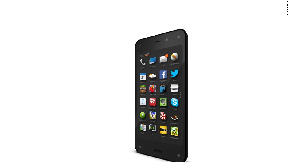 Amazon's Fire Phone, which was released this summer, has a 5-inch screen that displays 3-D images. A feature called Firefly offers instant image, text and audio recognition and reportedly can recognize more than 100 million songs, videos and consumer products.