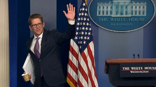 Jay Carney: 'It's always been a pleasure'