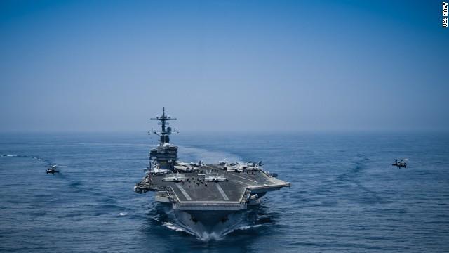 Us Sailor Killed In Mishap Aboard Aircraft Carrier Cnnpolitics