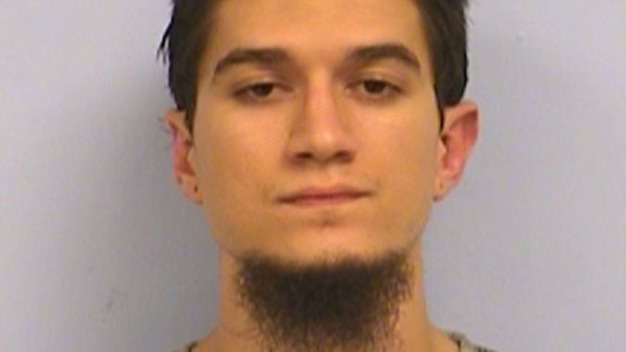 """Michael Todd Wolfe, 23, of Austin, has been charged """"with attempting to provide material support to terrorists."""""""