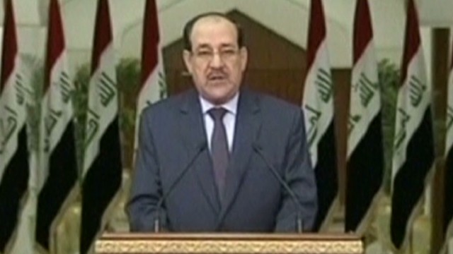 iraq Al-Maliki has to go for Iraq's sake robertson earlystart _00002711.jpg
