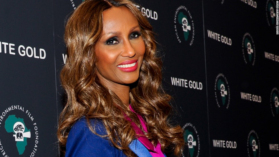 "The model  Iman has had several TV and film roles, including ""Miami Vice"" and ""Star Trek VI."""