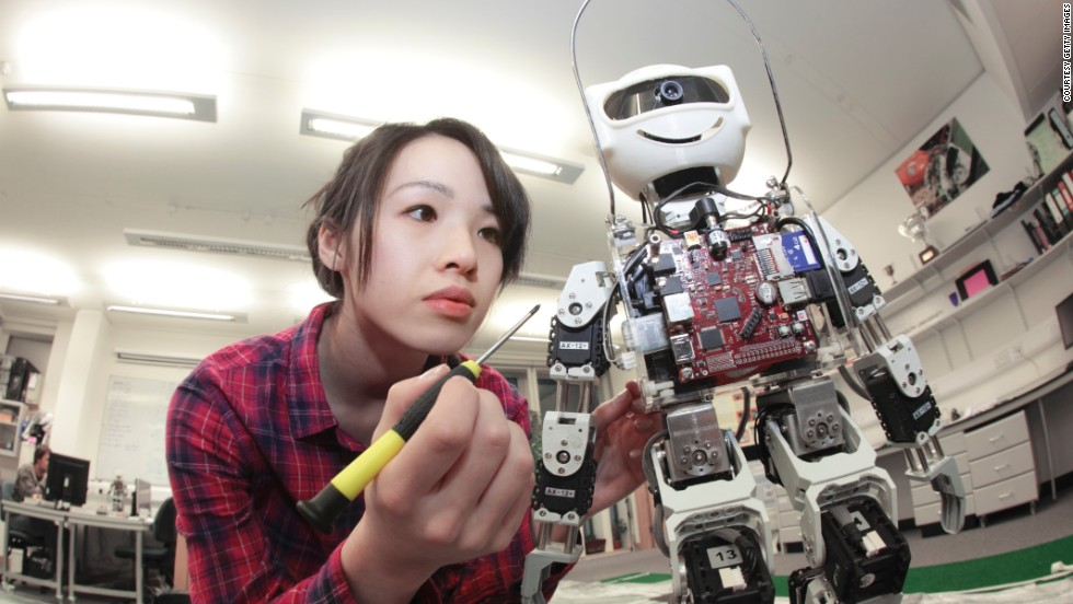 "A woman working in robotics is the best-selling image of the collection in China. ""There is such a dearth of women in STEM industries worldwide,"" says Pam Grossman, Director of Visual Trends at Getty Images. ""We believe that showing more pictures of females with technical skills can help play a part in normalizing these images and promoting them in real life."""