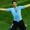 getty uruguay wins suarez celebrates
