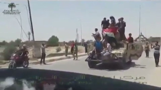 ISIS advances down a strategic highway
