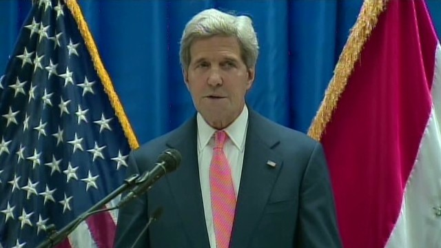 Kerry: Moment of 'great urgency' in Iraq