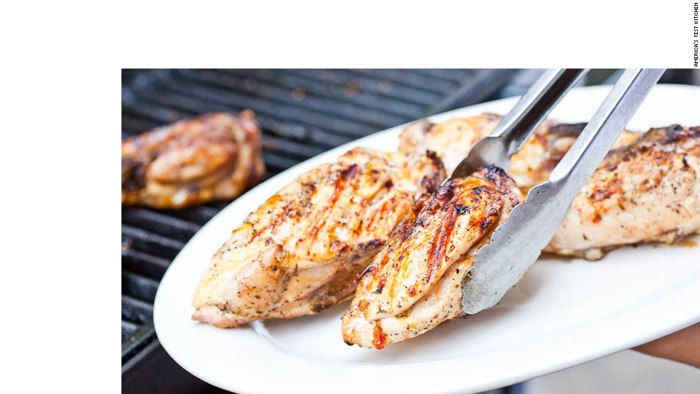 how to cook chicken breast on the grill