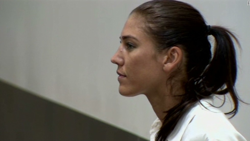 Hope Solo pleads not guilty