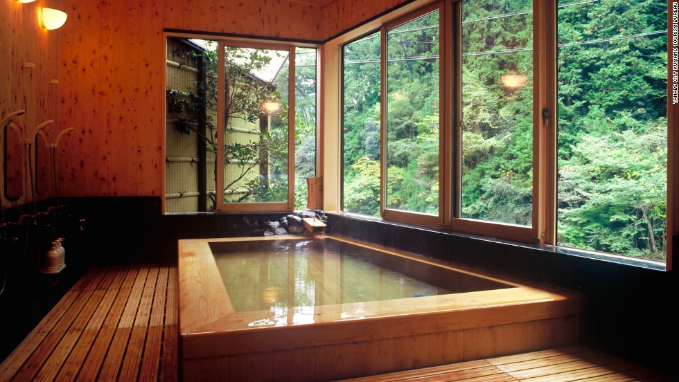 Japanese inn famous for beautifying baths | CNN Travel