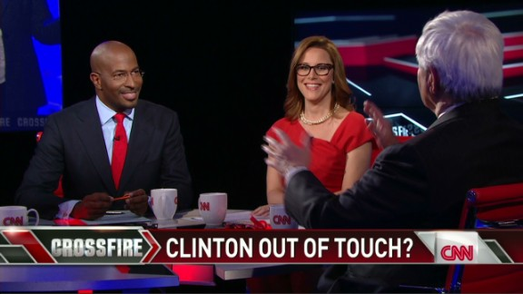 Crossfire Van Jones says Hillary